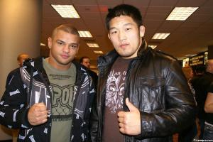 Ishii And Future Training Partner Alves. - Kamipro.com