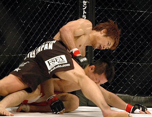 Hironaka stops Nagata - GBRing.com